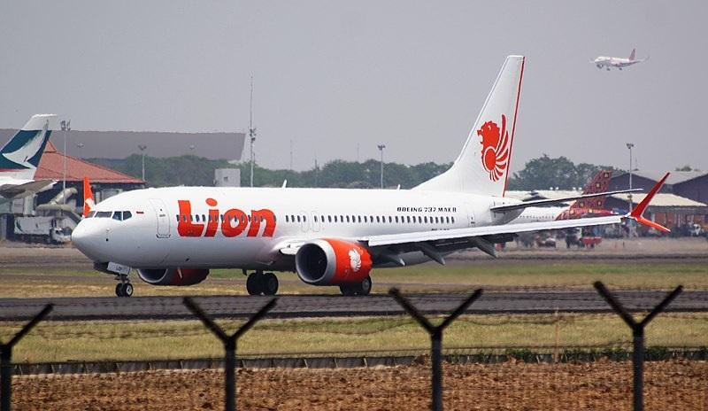 Die Maschine vom ersten Absturz: Lion Air, Boeing 737 MAX8, - Copyright: CGK, 2018, PK REN, Wikipedia