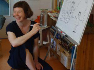 Julia Dürr zeichnet