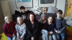 Frau Sauer und die Kinder aus dem Schwerpunkt Glassbrenner 2.0