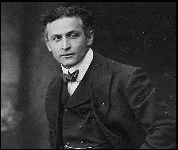 Harry Houdini-Quelle: Wikipedia