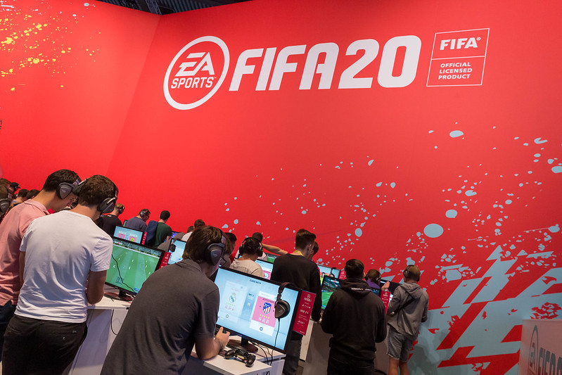 Fifa20 Spieler - Quelle: Flickr, Marco Verch