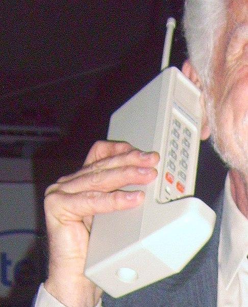 Das erste Handy der Welt, 1983 - Wikipedia