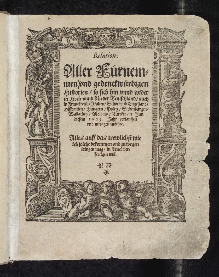 Die erste Zeitung der Welt