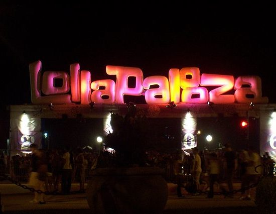 Lollapalooza Logo – Quelle: flickr durch Wikipedia, Autor: Tammy Lo