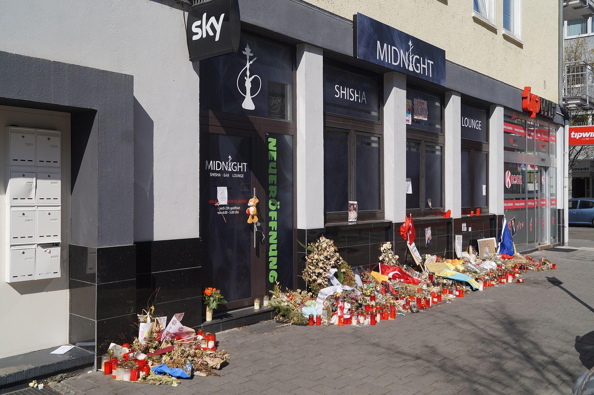 Der Shishabar des Anschlags von Hanau - Quelle: Wikipedia - Autor: Lumpeseggl