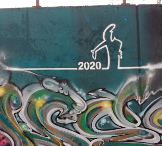 Graffiti im Park Gleisdreieck - Foto: Céline