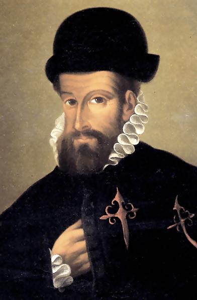 wikipedia, Francisco Pizarro um 1540